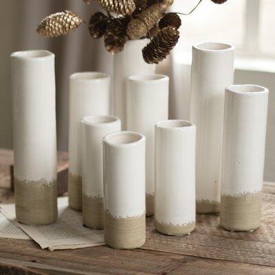 Cylinder Bud 9 Piece Table Vase Set