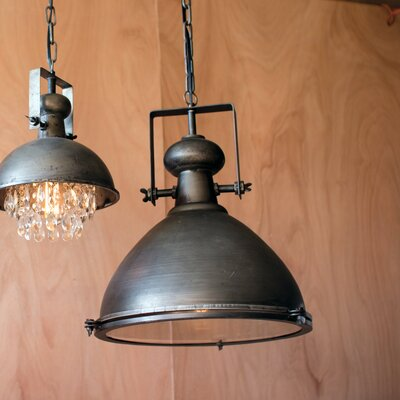 Emiliano Metal Warehouse Inverted Pendant