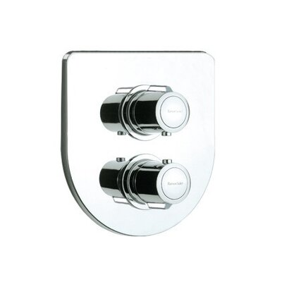 Arola Round Thermostatic Shower Mixer