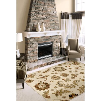 """Orian American Heirloom Woosley Bisque Rug - Rug Size: 3'11"""" x 5'5"""" at Sears.com"""