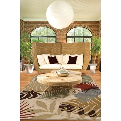 "Orian Harmony Tropical Shadows Rug - Rug Size: 5'3"" x 7'6"" at Sears.com"