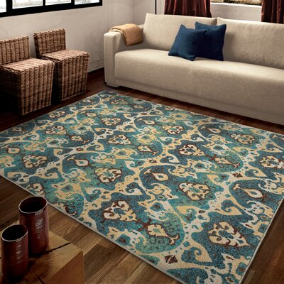 Ansonville Area Rug Rug Size: 53 x 76