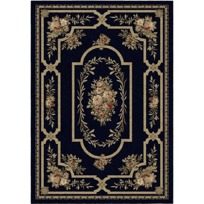 Estela Evening Black/Beige Area Rug Rug Size: 311 x 55