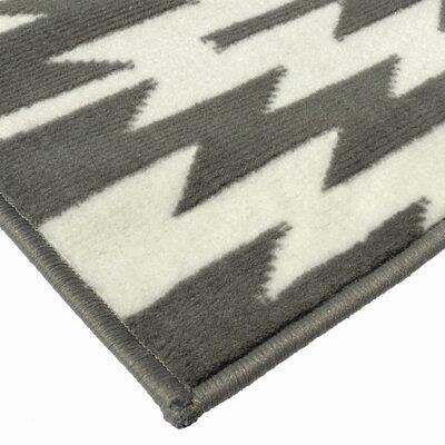 Chapell Gray Area Rug Rug Size: 710 x 10