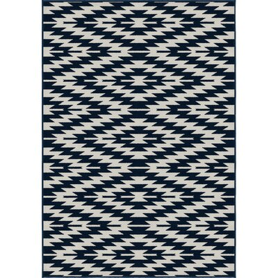 Chapell Blue Area Rug Rug Size: 5 x 7