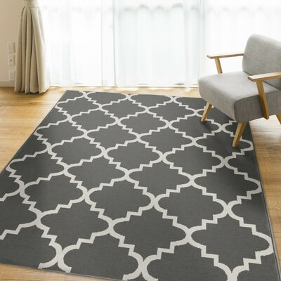 Legere Gray Area Rug Rug Size: 5 x 7