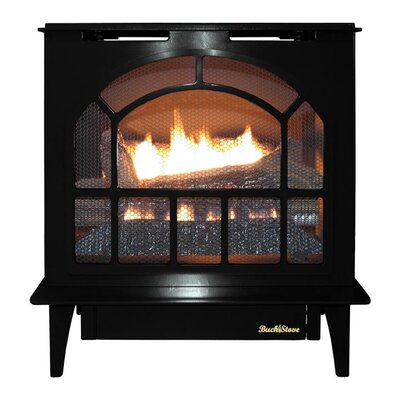 Hepplewhite Freestanding Steel-Body Stove Finish: Black