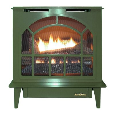 Hepplewhite Freestanding Steel-Body Stove Finish: Green
