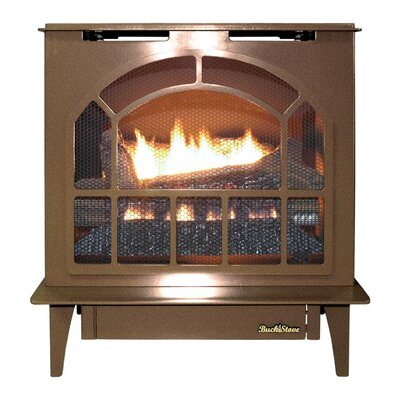 Hepplewhite Freestanding Steel-Body Stove Finish: Vintage Copper