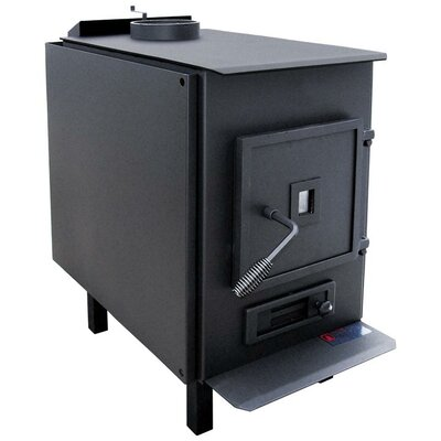 Lil John Non-Catalytic Wood Stove with Blower and Close Clearance Shield