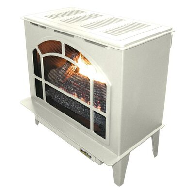 Townsend II Freestanding Steel-Body Stove Finish: Almond