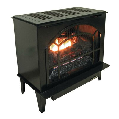 Townsend II Freestanding Steel-Body Stove Finish: Black