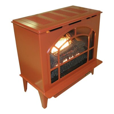 Townsend II Freestanding Steel-Body Stove Finish: Terracotta