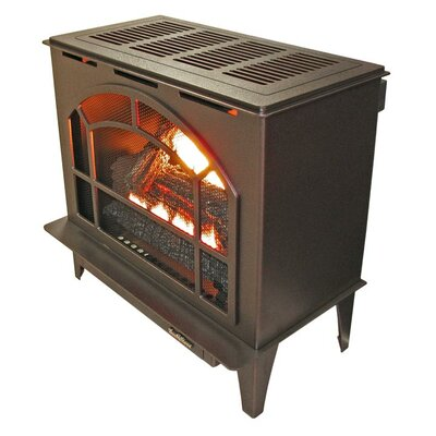 Townsend II Freestanding Steel-Body Stove Finish: Vintage Copper