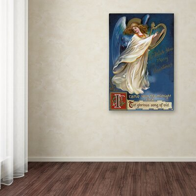 'Angel' Graphic Art Print on Wrapped Canvas Size: 19