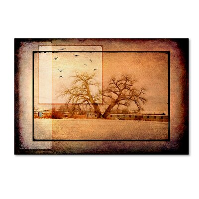 'For the Love of Trees V' Graphic Art Print on Wrapped Canvas Size: 12