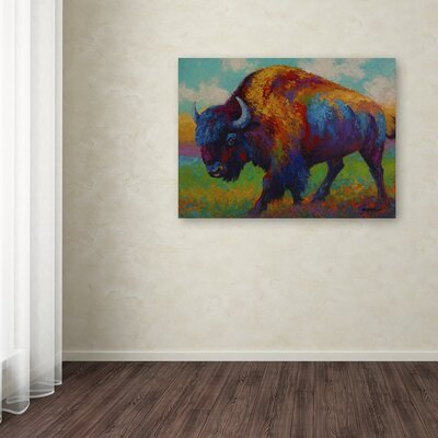 'Prairie Muse' Print on Wrapped Canvas Size: 14