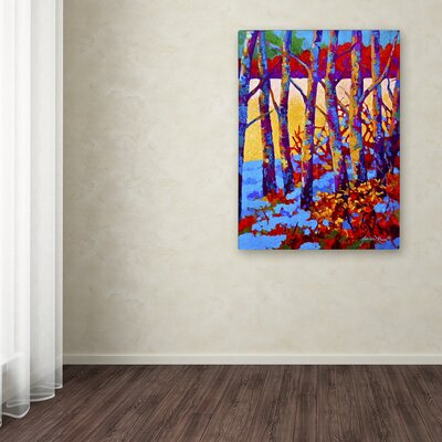 'Winters Promise' Print on Wrapped Canvas Size: 19