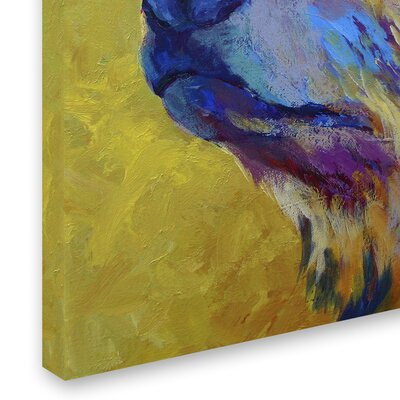 'Pretty Boy Grizz' Print on Wrapped Canvas Size: 14