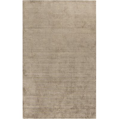 Tiffany Gray Solid Rug Rug Size: Rectangle 2 x 3