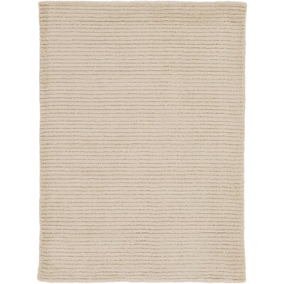 Tiffany Beige Solid Rug Rug Size: Rectangle 2 x 3