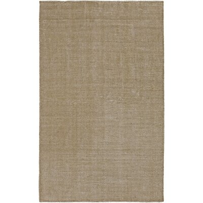 Tiffany Beige Solid Rug Rug Size: Rectangle 33 x 53