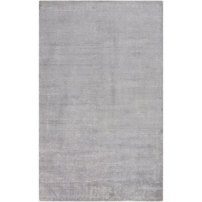 Tiffany Gray Solid Area Rug Rug Size: Rectangle 33 x 53