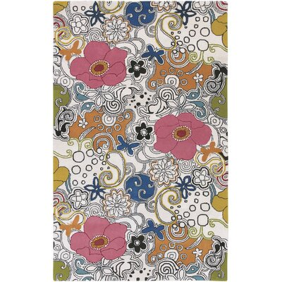 Goa Floral Area Rug Rug Size: Rectangle 5 x 8