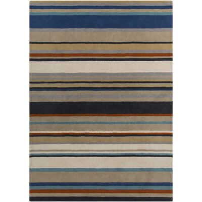 Harlequin Stripes Area Rug Rug Size: Rectangle 9 x 12