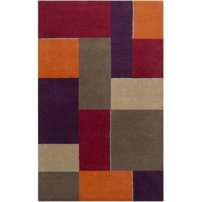 Harlequin Carmine Geometric Area Rug Rug Size: Rectangle 9 x 12