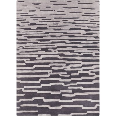 Harlequin Coal Grey Area Rug Rug Size: Rectangle 9 x 12