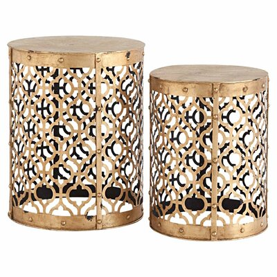 Winnie 2 Piece End Table Set