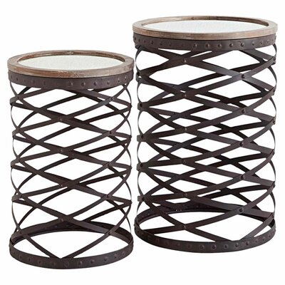 Hasse 2-Piece Side Table Set