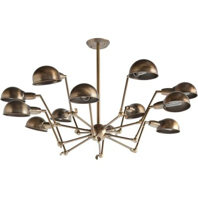 Ursidae 12-Light Foyer Pendant