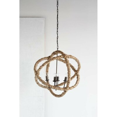 Morganton 4-Light Globe Pendant