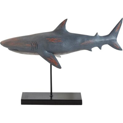 Whallus Decorative Great White Shark Figurine Size: Large 57523