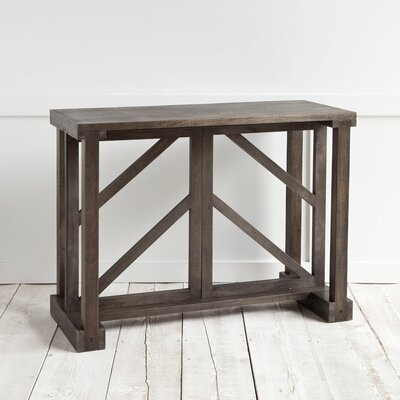 Marquisse Console Table Finish: Black