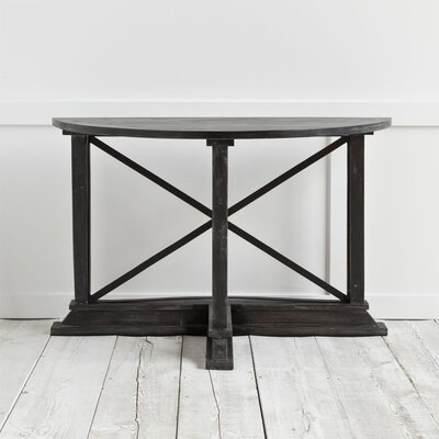 Boulanger Console Table Finish: Black