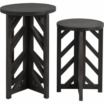 Anacaona I 2 Piece Semi Nesting Tables