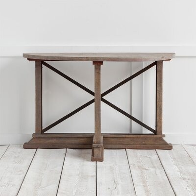 Boulanger Console Table Finish: Brown