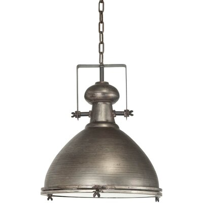 Bashaw 1-Light Bowl Pendant