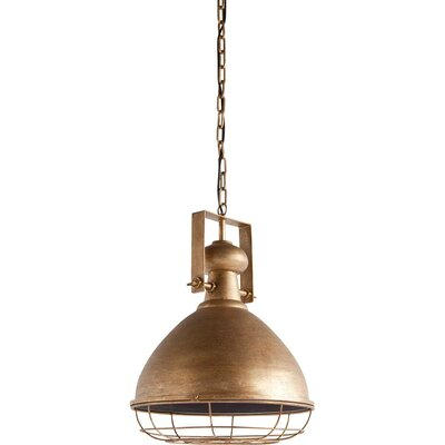 Hallam 1-Light Bowl Pendant