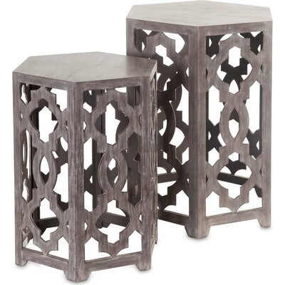 Hollis 2 Piece End Table Set