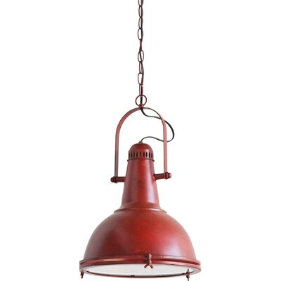 Kessler Pendant in Red