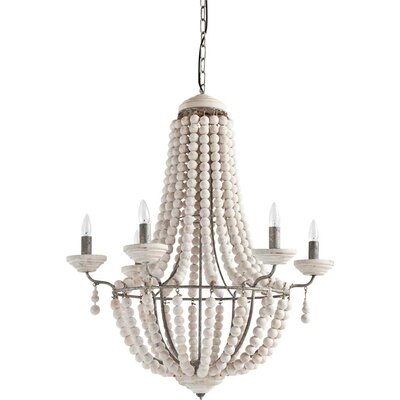 6-Light Empire Chandelier