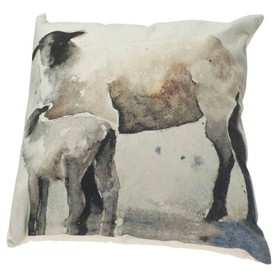 Cooke Linen Throw Pillow
