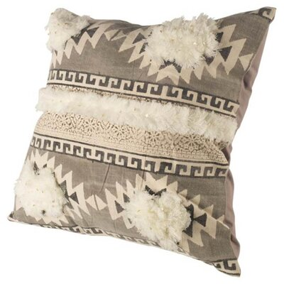Chandler Square Linen Throw Pillow