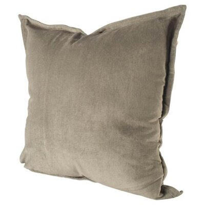 Arlington Linen Throw Pillow Color: Light Gray