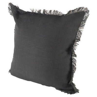 Millburn Linen Throw Pillow Color: Blue