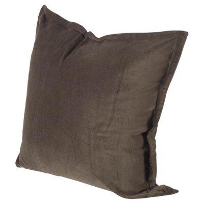 Arlington Linen Throw Pillow Color: Dark Gray